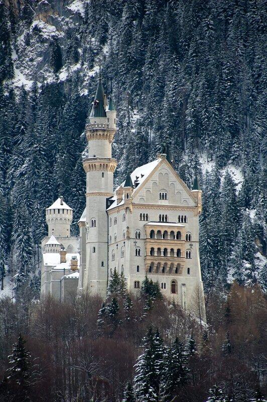 Сказочный замок.