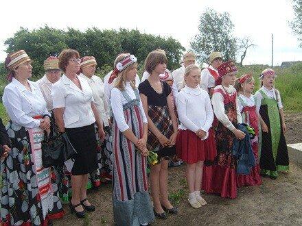 В д. Сидорково состоялась торжественная закладка «Сквера Памяти»