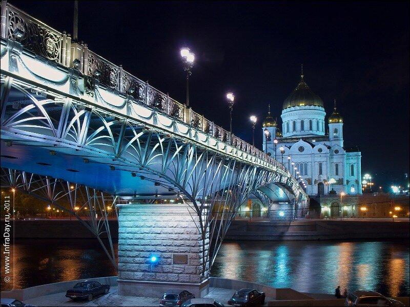 Ночная Москва, фотография ночной Москвы