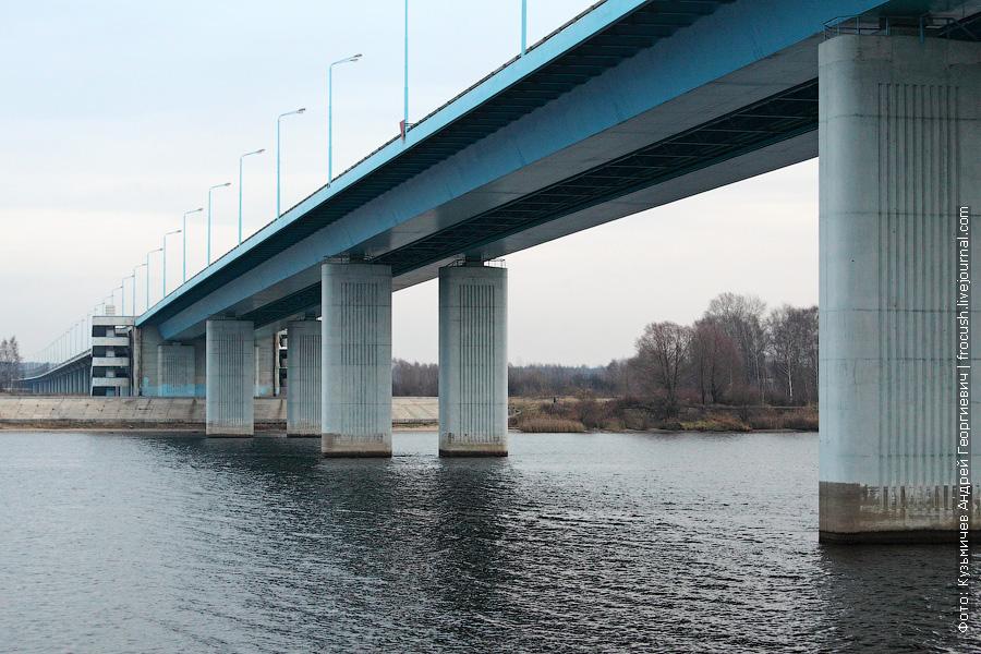 Юбилейный мост в Ярославле