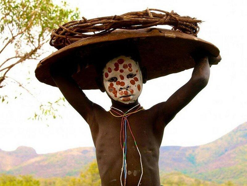 Затерянный мир племени сурма (Эфиопия)