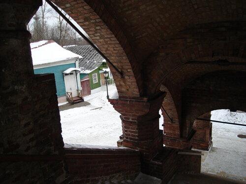 Лестница Успенского собора