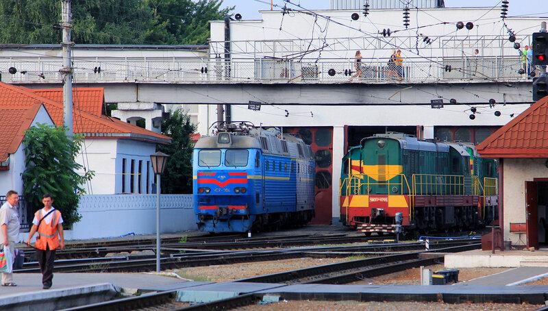 Симферополь. Локомотивное депо