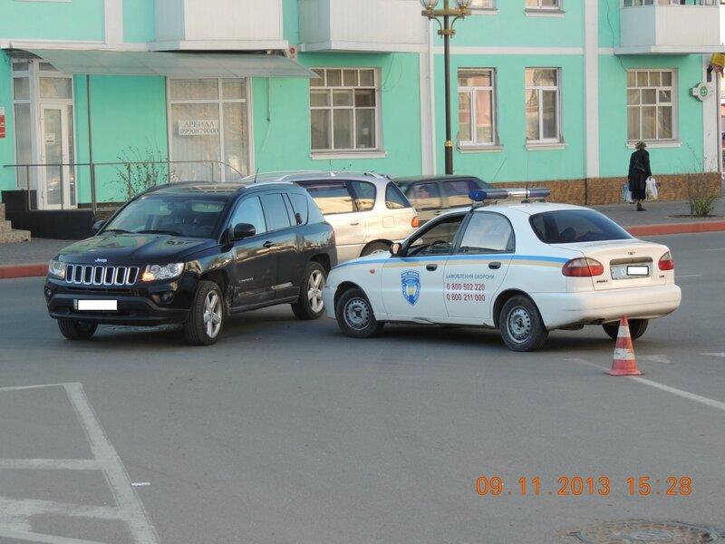 дтп с машиной охраны