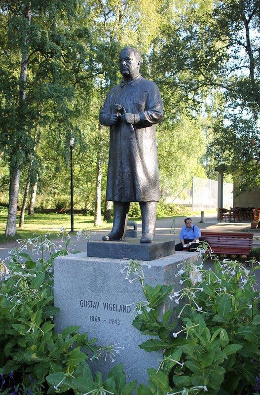 Осло, Памятник Густаву Вигеланду