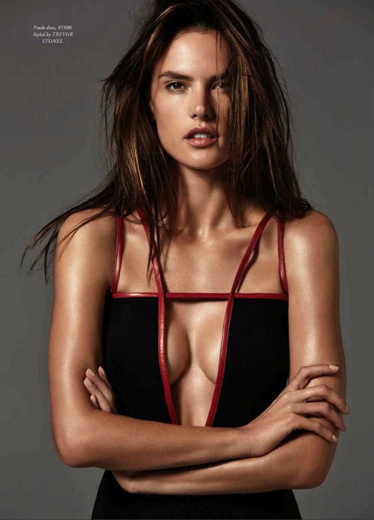 Алессандра Амбросио (Alessandra Ambrosio) в журнале Harper's Bazaar Australia