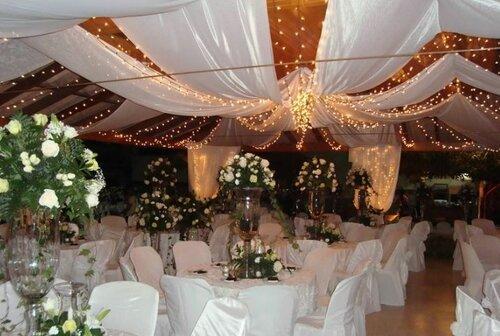 Декор зала для свадебного торжества своими руками