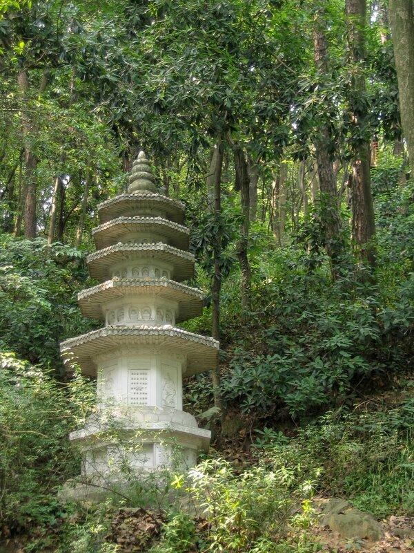 Белая пагода, Сад пагод, Люхэта, пагода Шести гармоний, Ханчжоу