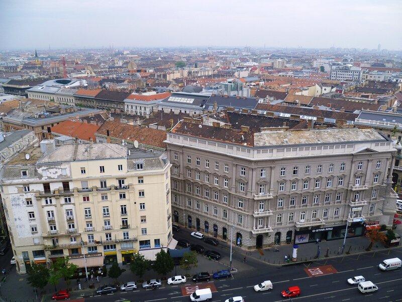 Будапешт, вид с базилики святого Иштвана (Будапешт, вид из базилики Святого Стефана)