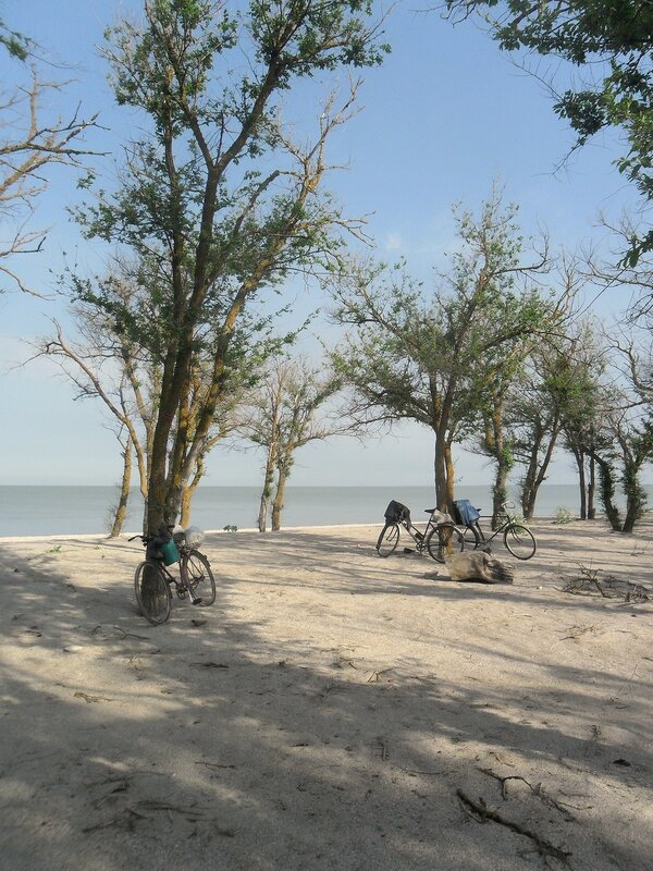 Май, на Азовском побережье