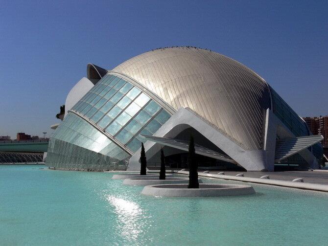 Город искусств и наук (Ciudad de las Artes y las Ciencias). Валенсия, Испания