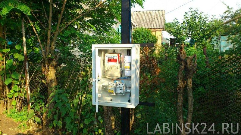 Подвод электричества для строительста каркасного дома
