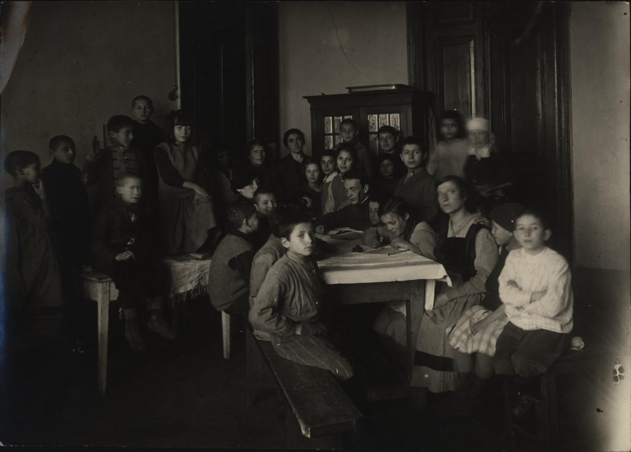 Минск. Заседание исполкома детей. 1920-е - 1930-е.