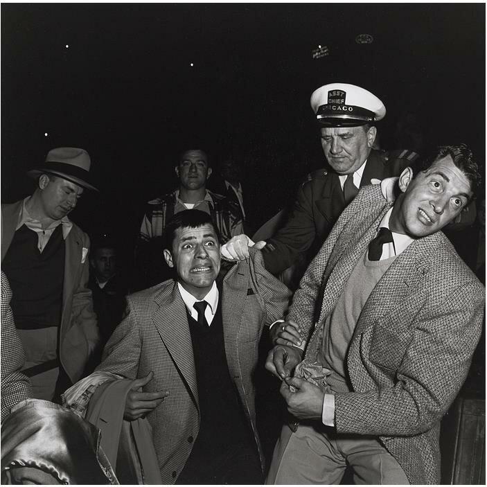 1951. Дин Мартин и Джерри Льюис, Чикаго