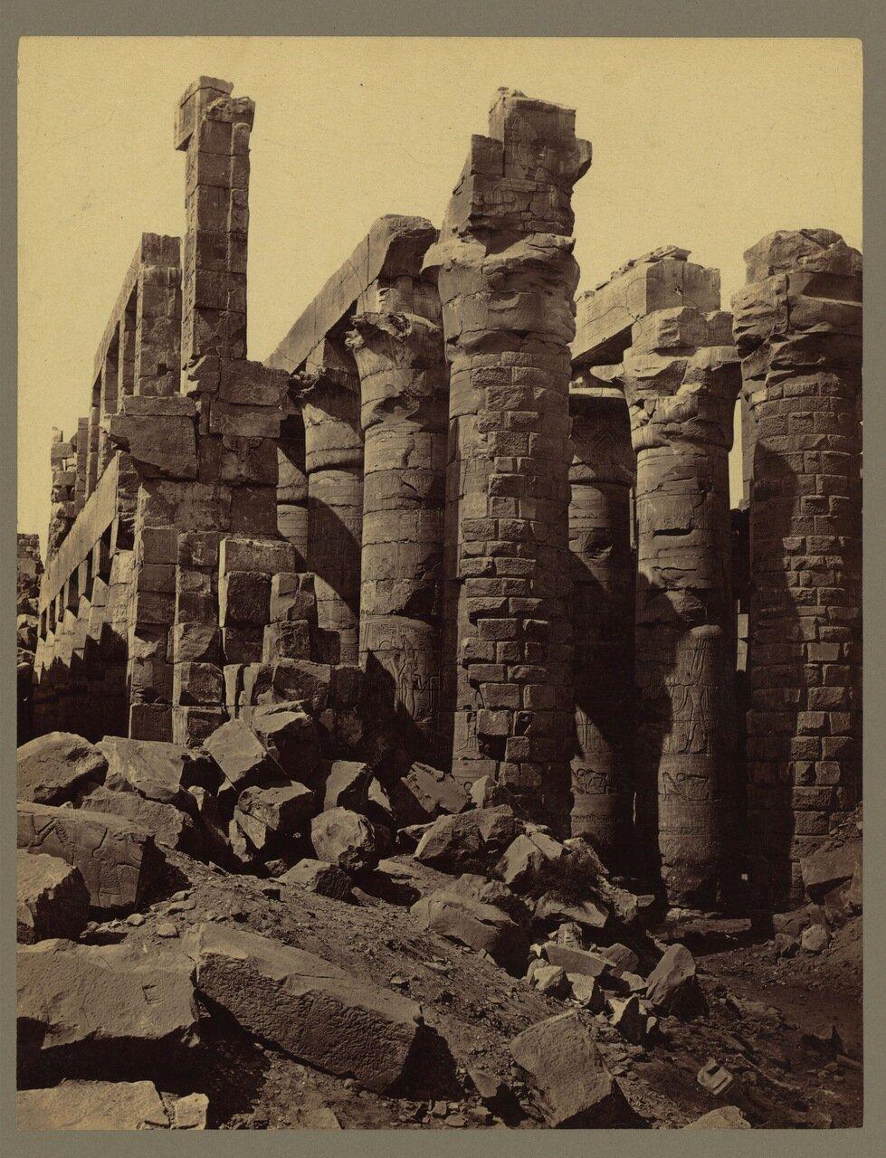 Фивы. Карнак. Колонны Великого Храма