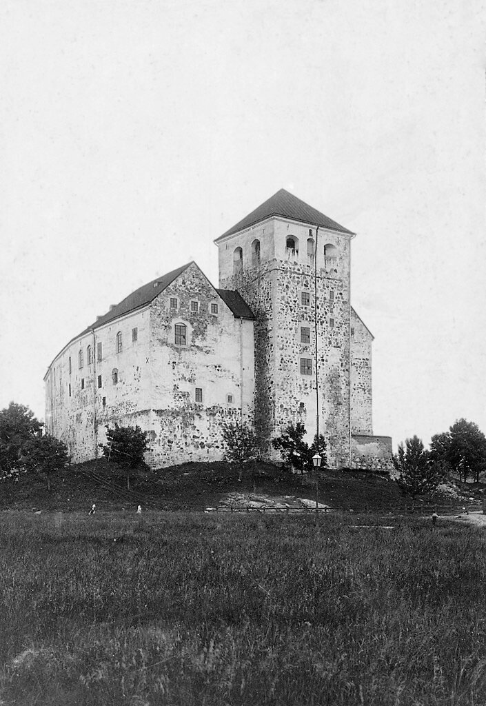 Замок в Турку, Финляндия. 1890