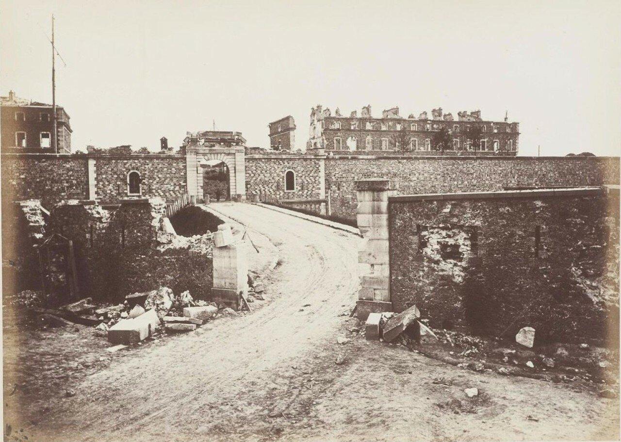 1871. Форт Ванв во время Парижской Коммуны