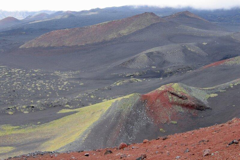 Вид в сторону Острого Толбачика, Камчатка
