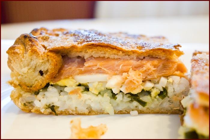 Умопомрачительный рыбный пирог