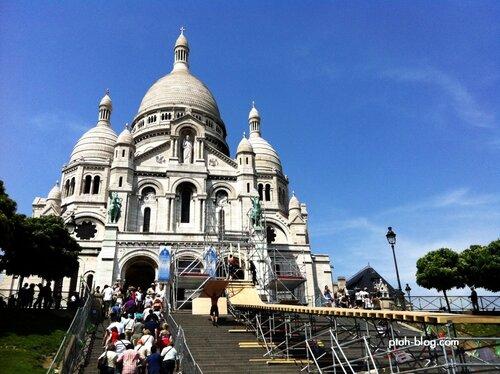 Париж, Франция, Сакре-Кёр