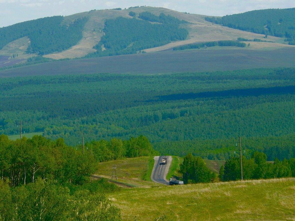 Сибирские пейзажи! Легко дышится!