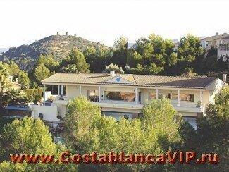 вилла в Denia, вилла в Дении, вилла в Испании, недвижимость в Испании, вилла с видом на море, вилла на Средиземном море, Коста Бланка, вилла в гольф клубе, CostablancaVIP