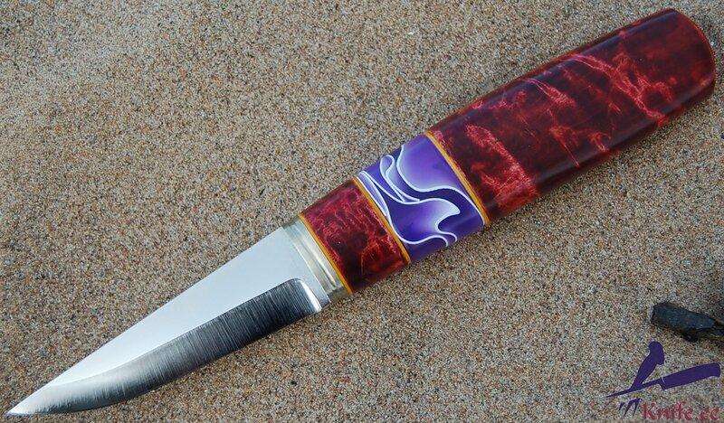Акриловые рукоятки ножа 166