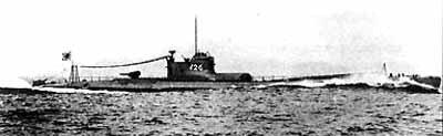 Японская I-25 во время II мировой войны