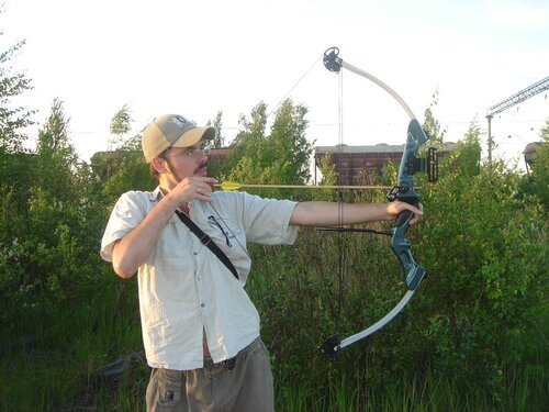 Как стрелять из блочного лука - личные впечатления