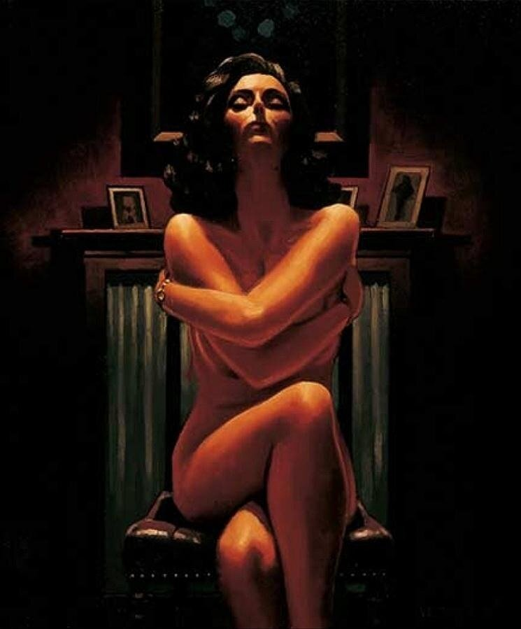 Just The Way It Is, by Jack Vettriano