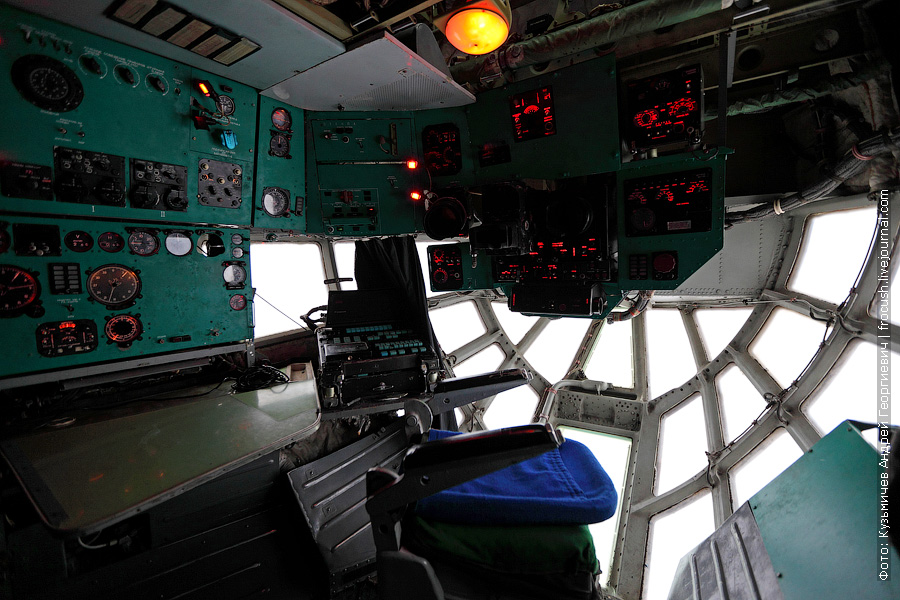 кабина штурмана Ил-76