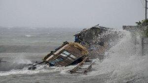"Тайфун ""Хайян"" обрушился на побережье Вьетнама и Китая"