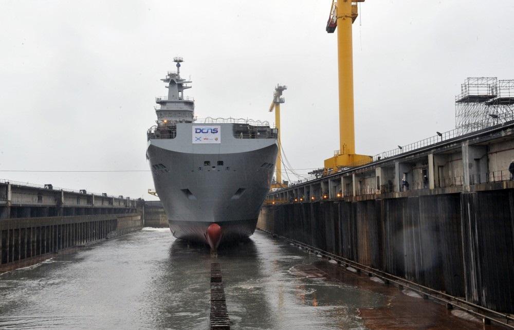 Владивосток десантный вертолетоносный корабль док