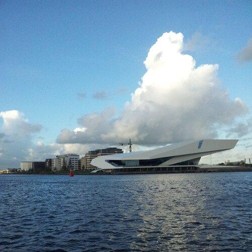 Облака над Амстердамом