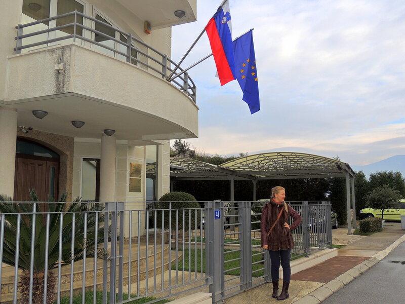 словенское посольство в Черногории