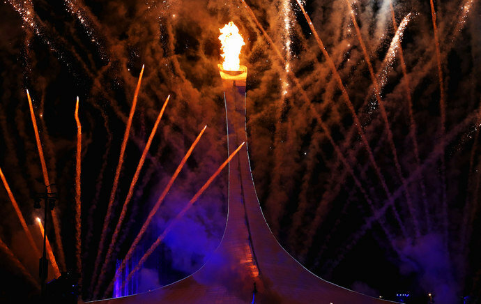 Открытие зимних олимпийских игр в Сочи