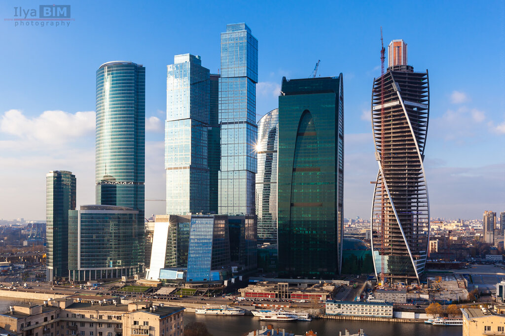 вид на ММДЦ Москва-Сити