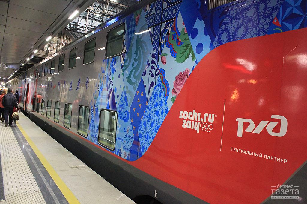 2 августа на маршрут Кисловодск – Москва выходит первый двухэтажный состав