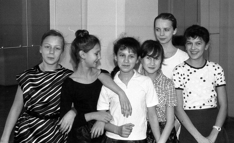 Юные танцовщицы