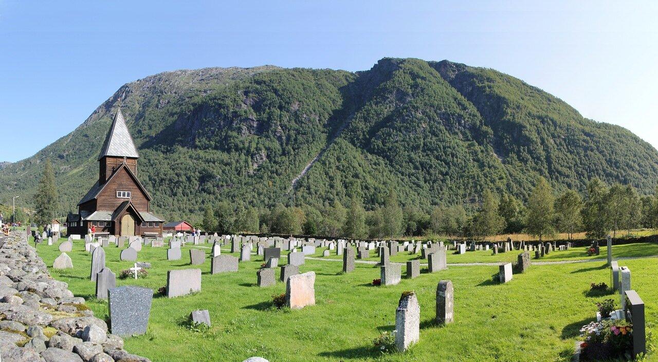 West of Norway Røldal.stavkyrkje, stave church