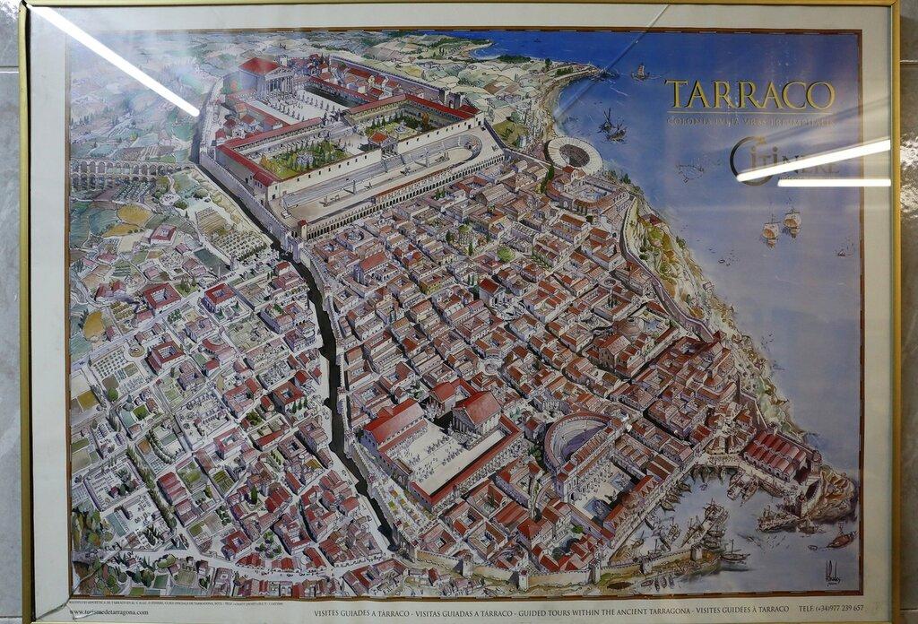 римский город Tarraco