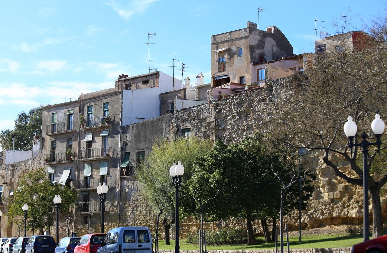 Таррагона. Римские стены. Muralla Romana, Tarragona