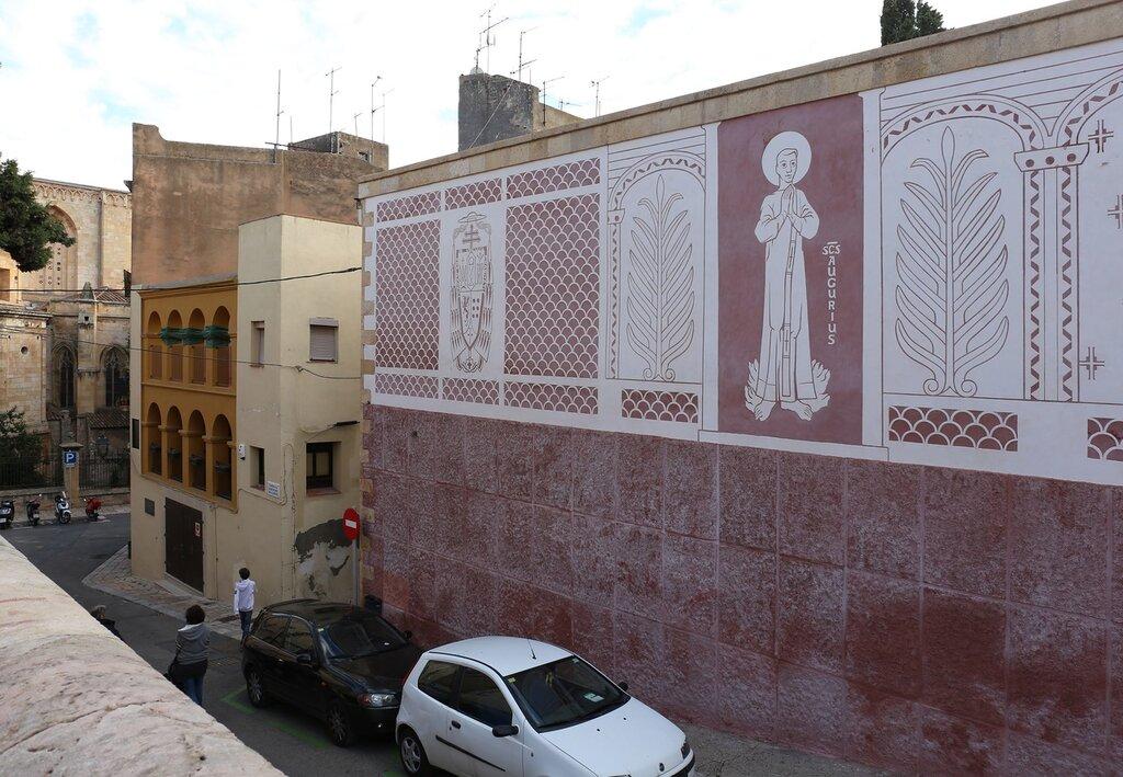 Таррагона. Дворцовая площадь. Pla de Palau. Tarragona.