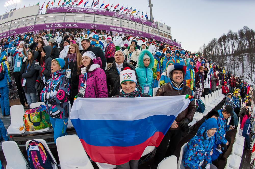Олимпиада 2014 глазами болельщика.