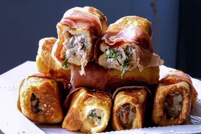 Чтобы узнать, как готовить, нажмите сюда. Ингредиенты: 8кусков хлеба для тостов 250г шампиньонов 1