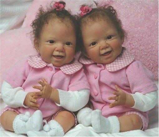 Куклы-дети Waltraud Hanl (Вальтрауд Хэнл)
