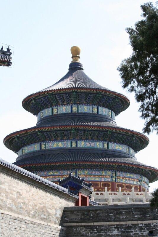 Пекин, парк Храма Неба - Зал Жатвенных молитв