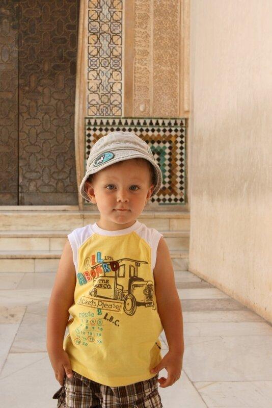 Егор в Альгамбре