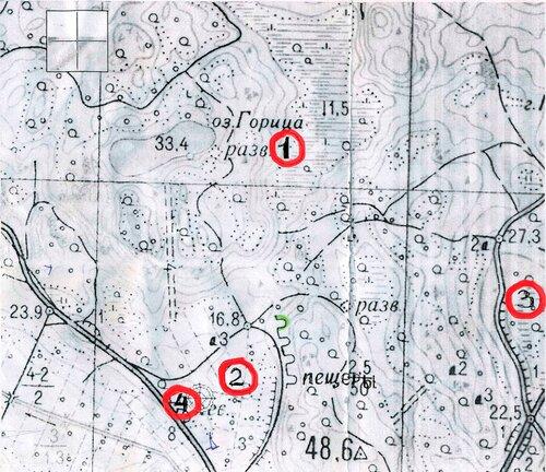 Карта Тиенхаары