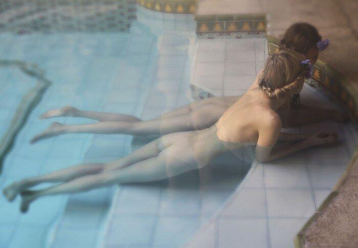 Lidia Kochetkova & Olesya Yarokhina by David Hamilton